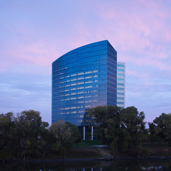 CalSTRS Headquarters in Sacramento, CA. Architecture: HOK