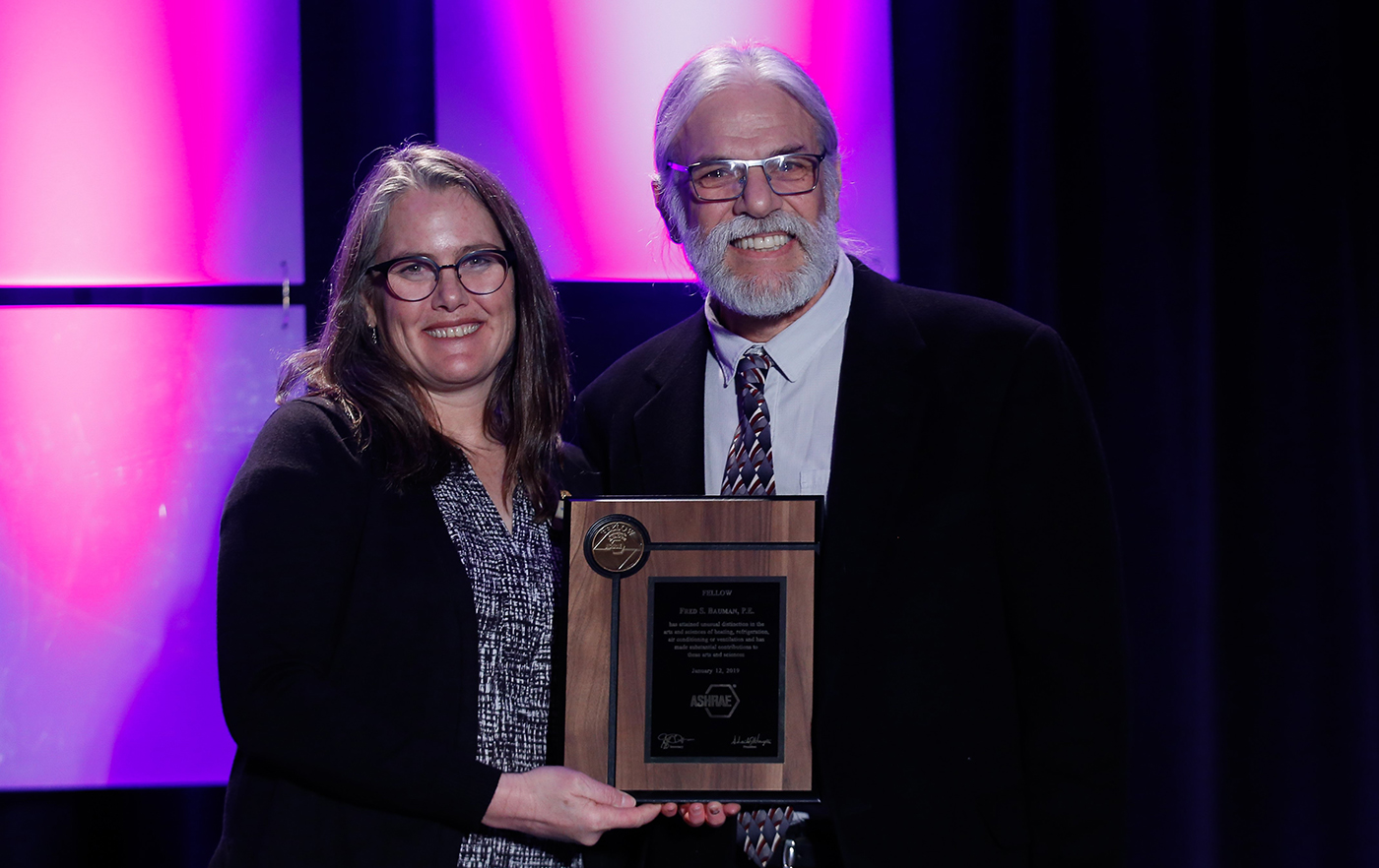 Fred Bauman receives ASHRAE Fellow Award