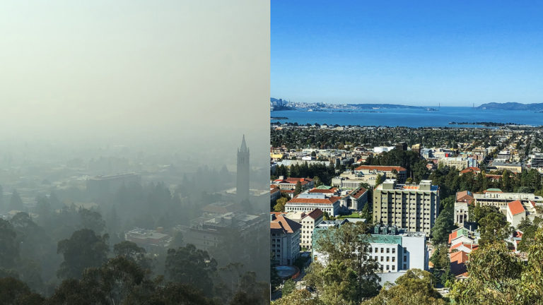 Using IoT Sensing to Determine the Resilience of Buildings to Wildfire Pollution