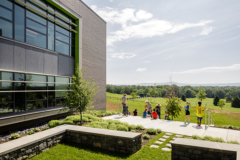 Livable Building Award Winner Bluestone School, photo by Lincoln Barbour