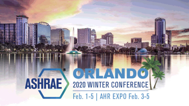CBE Researchers to Share New Results and Tools at ASHRAE Orlando 2020