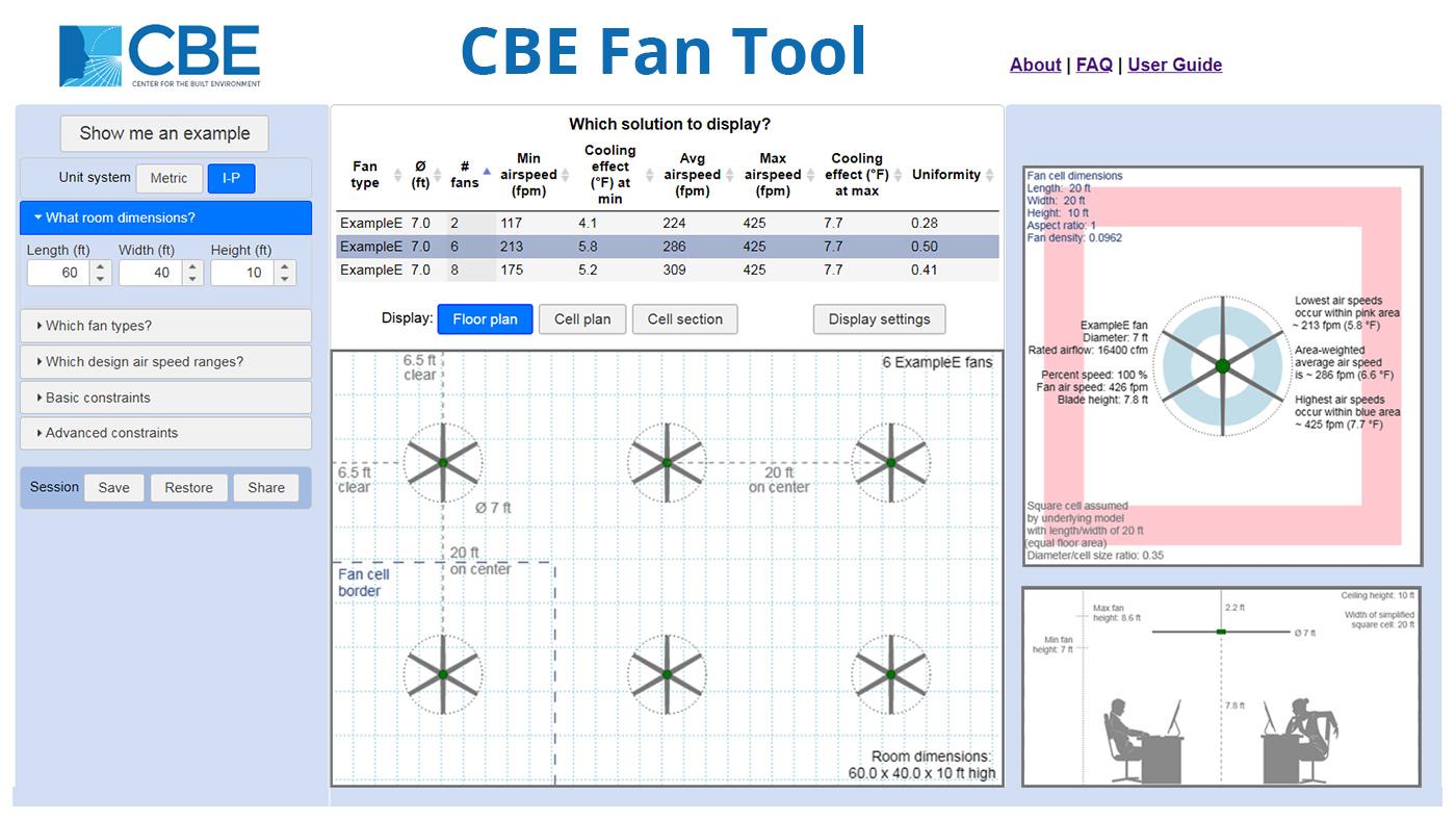 CBE Fan Tool