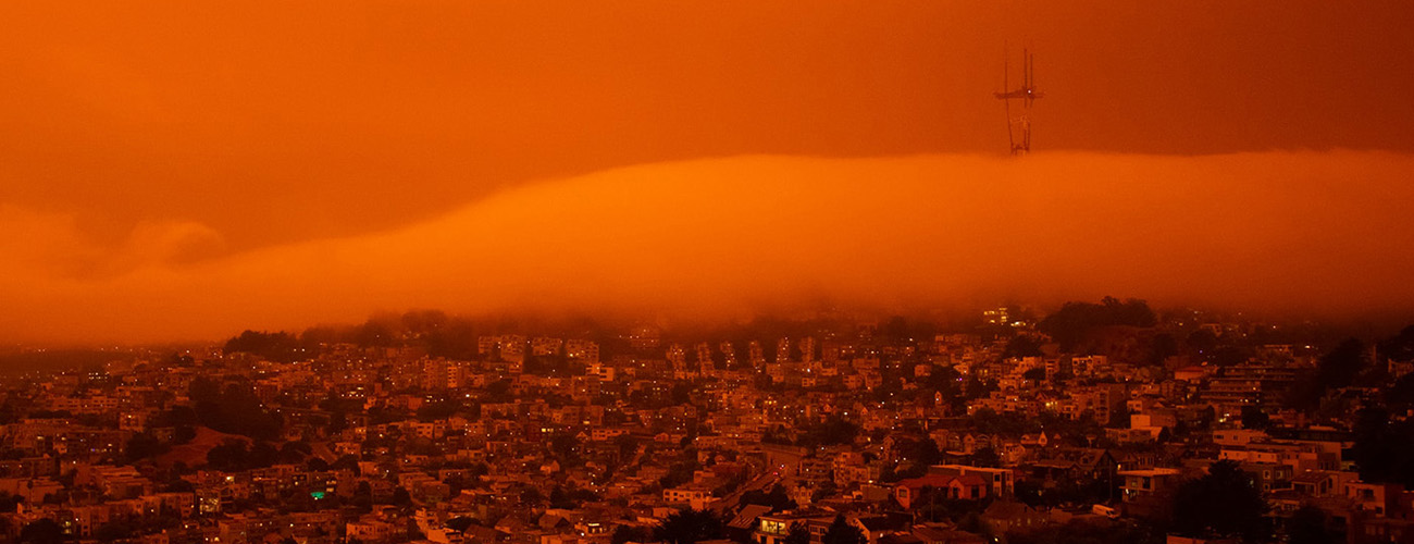 Orange Sky San Francisco September 9 2020